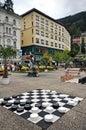 Black And White Checkerboard O...