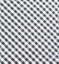 Negro y blanco tela