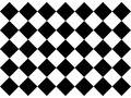 Black and white checkered floor tiles Royalty Free Stock Photo