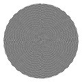Black and White Checkered Optical Illusion Stock Images