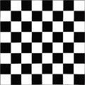 Black and white chessboard pattern of Royalty Free Stock Images