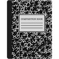 Black and White Composition Book Illustration Royalty Free Stock Photo
