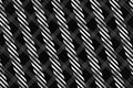 Black and White Computer Generated Abstract Geometric Pattern Royalty Free Stock Photo