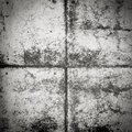 Black and white concrete wall dirty texture grunge background Stock Image