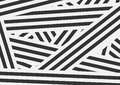 Black and white contrast stripes abstract background