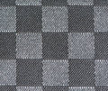 Black and white fabric pattern Stock Images