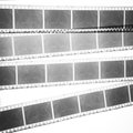 Black and white film background Royalty Free Stock Photos