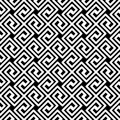 Greek Key Diagonal Seamless Pattern