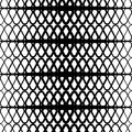 Black and white halftone background. Seamless pattern.