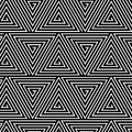 Black and White Hypnotic Background Seamless Royalty Free Stock Photos