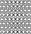 Black and white Islamic pattern Stock Photo