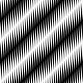 Black and white jagged edge seamless pattern