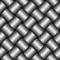 Black and white jagged edge seamless pattern eps vector illustrator Royalty Free Stock Photo