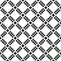 Black and white leser cut repeted pattern design