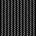 Black and white line abstract pattern background.