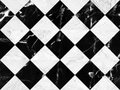 Black and white marble bricks wall background , seamless marble wall pattern , for Interiors design. High resolution Royalty Free Stock Photo