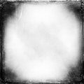 Black and white medium format film background with heavy grain light leak Royalty Free Stock Images
