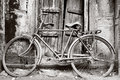 Black And White Old Bicycle