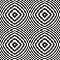 Black and white optical illusion vector seamless pattern can be used as background image consists of squares rectangles only Royalty Free Stock Image