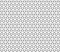 Black & white ornamental geometric pattern, thin lines