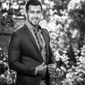 Black-white Outdoor Portrait O...