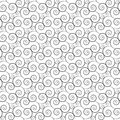 Black and white pattern seamless abstract background Stock Image