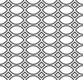 Black & white repeat ornamental texture