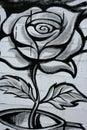 Black And White Rose Street Gr...