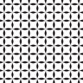 Black-and-white seamless pattern Stock Photo