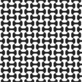 Black-and-white seamless pattern Stock Images