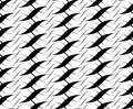 Black and white seamless pattern twist line style, abstract background Royalty Free Stock Photo