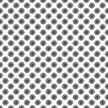 Black and white sun seamless pattern