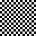 Black and white squares Stock Images