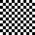 Black and White Squares pattern background icon great for any use. Vector EPS10. Royalty Free Stock Photo
