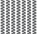Black and white strips volute shape fabric background that is seamless repeats Royalty Free Stock Photo