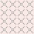 Black & white subtle background, square geometric seamless