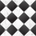 Black And White tile Royalty Free Stock Photo