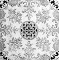 Black and White Tile Pattern Royalty Free Stock Images