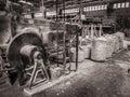 Black and White Tinsel Twine Factory Port-Au-Prince Haiti Royalty Free Stock Photo