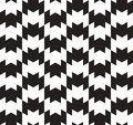 Black and white vector seamless pattern can be used as background Royalty Free Stock Images