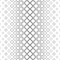 Black and white vertical square pattern background - monochromatic vector illustration from diagonal squares