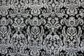 Black and white vintage ornamental background