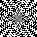 Black And White Wavy Lines Int...