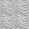 Black and white wavy striped background