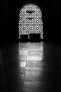 Black and White window Royalty Free Stock Photo