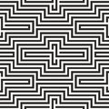 Black and white zigzag pattern seamless Royalty Free Stock Image