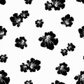 Black and wite seamless texture Royalty Free Stock Photo
