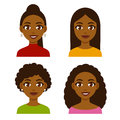 Black women set