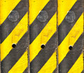 Black and Yellow line Royalty Free Stock Photo