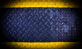 Black yellow metallic background Royalty Free Stock Photo